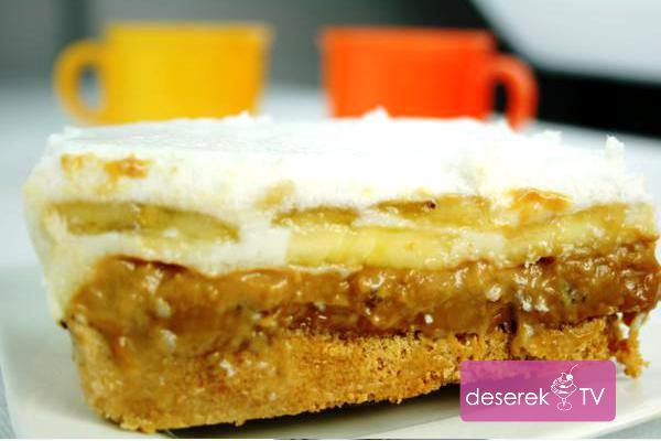 Ciasto Banoffee Pie