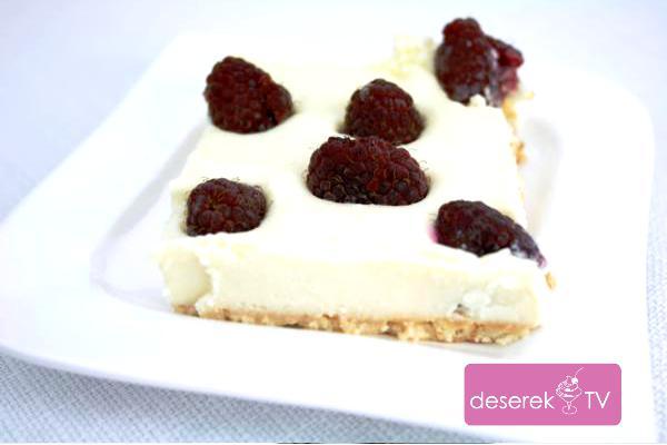 Biała Dama Sernik z białą czekoladą