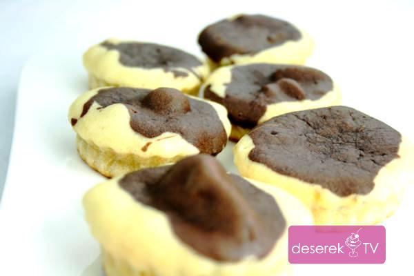 Babeczki waniliowo kakaowe