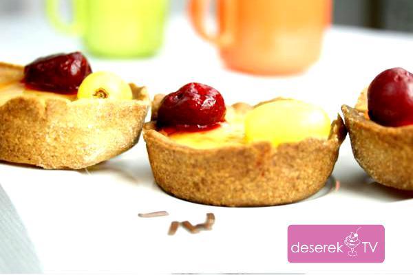 Tartaletki z owocami i galaretką