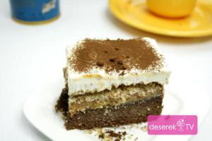 Ciasto Toffi z orzechami