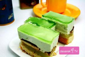 Zielone Ciasto Shrek przepis