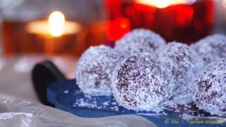 Bajaderki truskawkowo - czekoladowe - Ewa Hinz