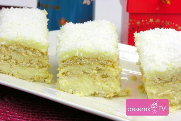 Ciasto Rafaello przepis - Rafaello z Malibu na Krakersach