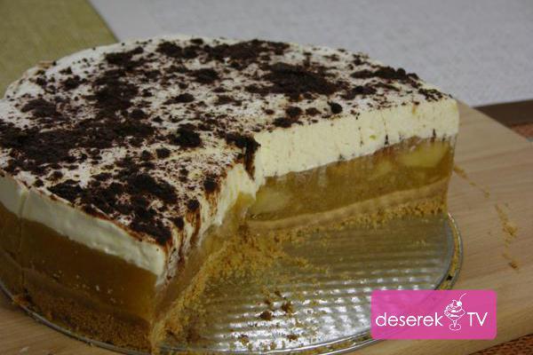 Ciasta bez pieczenia Szarlotka