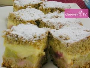 Ciasto Razowe z Rabarbarem