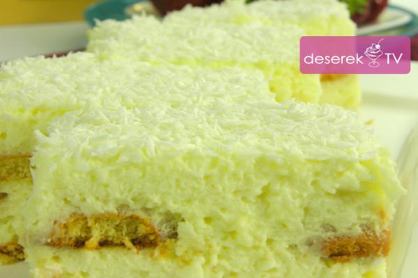 Śnieżynka Cytrynowa Ciasto bez pieczenia