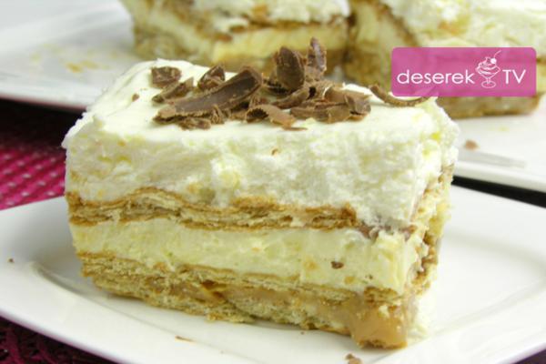 Ciasto 3 Bit Przepis Na Ciasto Bez Pieczenia Deserek Tv Przepisy