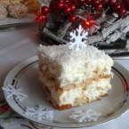 Ciasto Śnieżka przygotowane przez Ewa0207