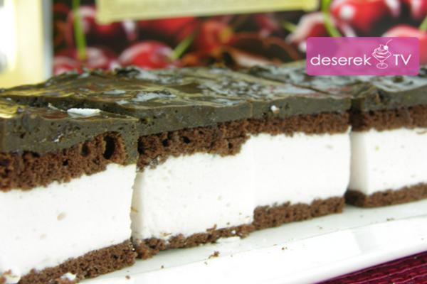 Ciasto ze śliwkami w czekoladzie