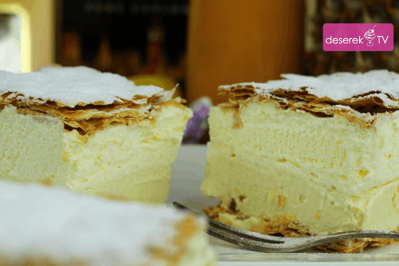 Kremowka Przepis Idealny Na Ciasto Napoleonka Deserek Tv