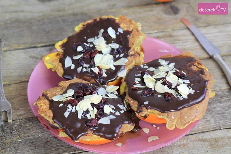 Placuszki Owsiane w czekoladzie
