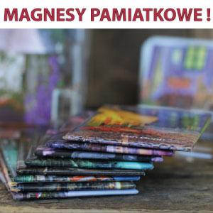 Magnesy pamiątkowe metalowe